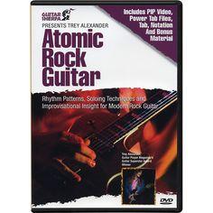 Music Sales Guitar Sherpa Presents Trey Alexander: Atomic Rock Guitar