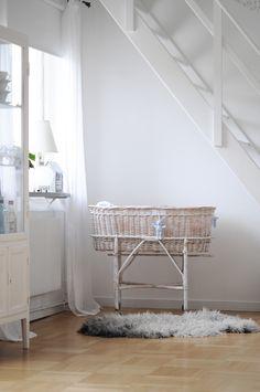 White on white nursery