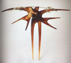 Swallow Hair Ornament, Lalique