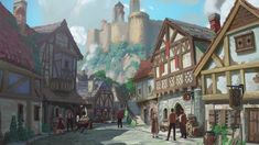 Half Brother, Minor Character, Head Of State, The Elf, Illusions, Castle, Tower, Dragon, Street View