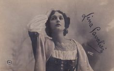Original vintage postcard with undivided back pre-dating 1905 of Italian opera singer Lina Cavalieri as photographed by Leopold Reutlinger of Paris.    Stamped facsimile signature on postcard. Some fading and rounding to corners, otherwise, good condition.    * * *    PURCHASE AT LEAST 3 POSTCARDS AT THE SAME TIME AND RECEIVE FREE SHIPPING. When I process your order I will refund the shipping cost back to your Paypal Account, when you purchase at least 3 postcards from my store at the same…