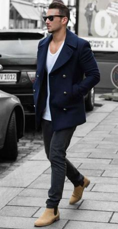 Men's Style Guide: Best Coat Style for Your Body Shape