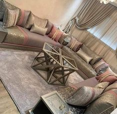 Moroccan Decor Living Room, Moroccan Interiors, Living Room Decor, Bedroom Door Design, Living Room Sofa Design, Living Room Designs, L Shaped Sofa Designs, Sofa Set Designs, Room Ideas Bedroom