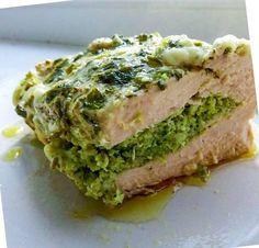 Piept de pui umplut cu broccoli Avocado Toast, Quiche, Broccoli, Breakfast, Recipes, Food, Morning Coffee, Recipies, Essen
