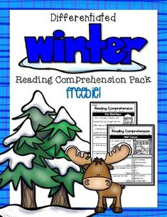 Winter Reading Comprehension Freebie by Creations by Carrots Learning Maps, Common Core Standards, Sight Words, Reading Comprehension, Worksheets, Word Reading, Carrots, Teacher, Activities