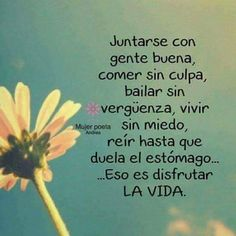 La imagen puede contener: planta, flor y texto Words Quotes, Me Quotes, Sayings, Qoutes, Motivational Phrases, Inspirational Quotes, Positive Thoughts, Positive Quotes, Spanish Quotes