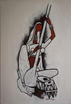 Artwork by Kamal Koria – Britsh Asian Artist – Kamal Koria is British Indian Artist who has worked as a contemporary artist since 1990 Madhubani Art, Madhubani Painting, Saraswati Painting, Indian Contemporary Art, Contemporary Art Paintings, Modern Art, Indian Folk Art, Indian Artist, African Art Paintings