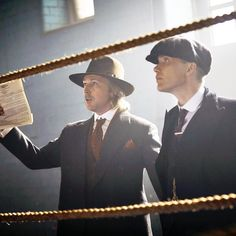 Tommy Shelby and Aberama Gold by @robertviglasky. E4 airs In <24 hrs on @bbctwo. Let's go! · #cillianmurphy #aidangillen #peakyblinders
