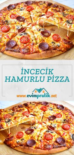 Yami Yami, Turkish Pizza, Pepperoni, Vegetable Pizza, Cookies, Vegetables, Food, Crack Crackers, Biscuits