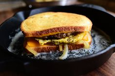 This breakfast patty melt recipe makes enough for about two servings but don't worry, you can always double or triple the ingredients if you want more. It is okay to
