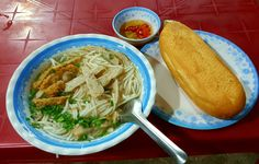 The #noodle #soup with #fish of the locals in Phan Thiet, it's also very popular in #Mui Ne #Nha Trang #vietnamrider #motorbike #tours
