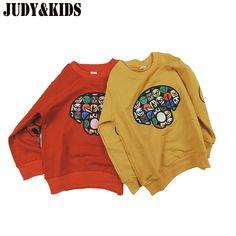 T-shirts Sweatshirts For Boys Girls Sweaters Child Autumn Winter New Sweatshirt Cartoon Print Children Clothes Hoodie Wear Kids //Price: $ //     #baby