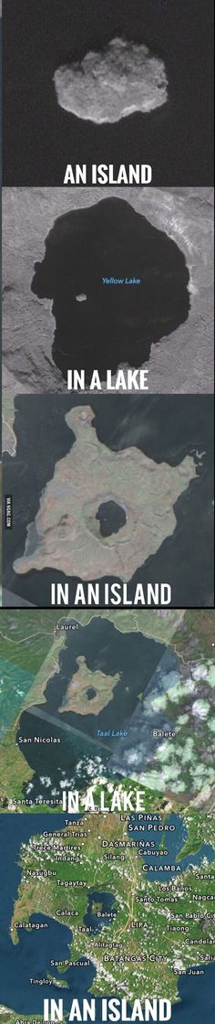 Island-ception ---- I don't know why this is funny to me?