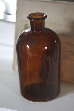 Gammel apotekerflaske