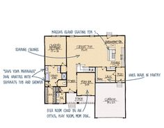 Schumacher Homes House Plan Detail Spa Like Bathroom Custom Home Builders
