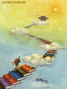 11 Successful and Impressive Cartoons Describing the Benefits of Reading - Nursery Ideas I Love Books, Books To Read, My Books, School Murals, Reading Art, World Of Books, Lectures, Book Images, Book Authors