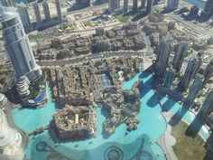 Downtown Dubai from Burj Khalifa