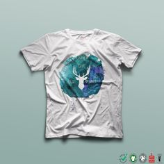 Earth Warrior  Ethical T Shirt  Vegan T-shirt  by TheBlackTeeShack