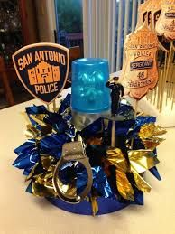 Image result for police party centerpiece