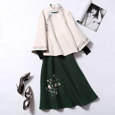 Ethnic Fashion, Lolita Fashion, Modest Fashion, Hijab Fashion, Girl Fashion, Fashion Dresses, Fashion Design, Japanese Fashion, Korean Fashion