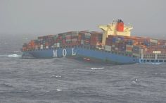 On June 17, Mitsui O.S.K. Lines' 2008-built MOL Comfort began suffering from severe hogging and broke in two while underway from Singapore to Jeddah with a load of 7,041 TEUs. The crew escaped in life rafts and were picked up by another merchant vessel.