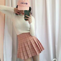 [Tumblr Aesthetic Fashion] - [Kawaii Clothing] - [Free shipping Circle Framed Glasses] - [Pastel Jacket] - [Shop Kozy]