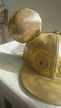 5db28e21c2d7 inspired ears applied to a Star Wars Licensed hat. Perfect to add to any  star wars disney fans home. Optional bows can be applied at no