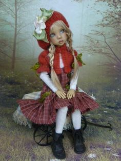 OOAK MSD Outfit for MSD by Monica Spicer