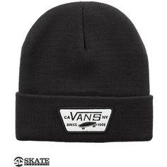 Vans Milford Beanie ($19) ❤ liked on Polyvore featuring accessories, hats, beanies, vans beanie, beanie hats and vans hat