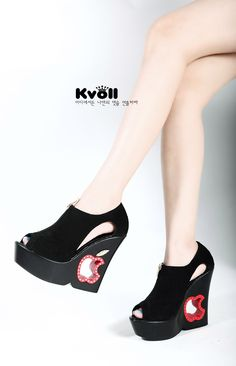 wholesale Wholesale kvoll cute wedges peep toes shoes   kvoll SN0826240  $23.15 from www.wholesaleitonline.com