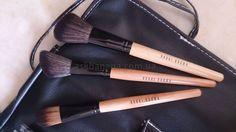 Набор 15 профессиональных кистей для макияжа в чехле