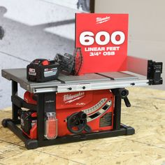 Table Saws Milwaukee Tool Fuel Table Saw Hero Circular Saw Reviews, Best Circular Saw, Cordless Power Drill, Cordless Tools, Milwaukee Tools, Milwaukee M18, Wood Table Design, All Tools, Drill Set