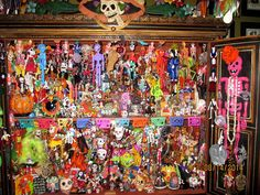 Dia de Los Muertos room at Treasures of the Gypsy Gypsy, Dolls, Room, Painting, Art, One Day, Day Of The Dead, Death, Art Background