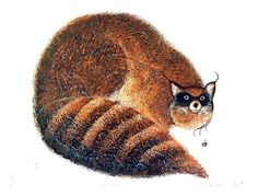 Raccoon by Eddy Cobiness (Ojibwe) - Contemporary Canadian Native, Inuit & Aboriginal Art - Bearclaw Gallery Aboriginal Culture, Aboriginal Art, Native American Artists, Canadian Artists, Native Canadian, Inuit Art, Bear Claws, First Nations, Nativity