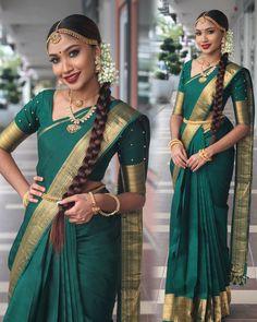 "Usha Sevi Ganeshwaran on Instagram: ""Stunning @sivasakti_alexander in @resham_by_sofistiq Blouse : @ramra_designercloset kanchipuram saree. Jewellery :…"""
