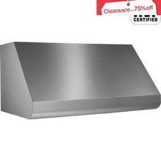 #cool The Broan-NuTone E60E42SS #Elite Series 42 In. Pro-Style Wall-Mount Range Hood #Shell for External Blower is fresh and modern, yet designed to easily comple...