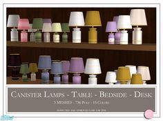 DOT's Canister Lamps