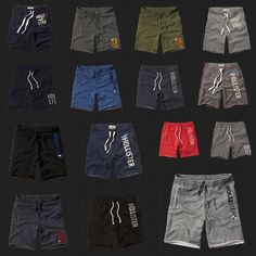 Shorts Nwt Hollister Hco Athletic Shorts Fleece Gym Sweat Short Pants By Abercrombie Track Pants Mens, Mens Fashion Wear, Superdry Mens, Sport Wear, Athletic Shorts, Shirt Style, Dutch, Capri, T Shirt