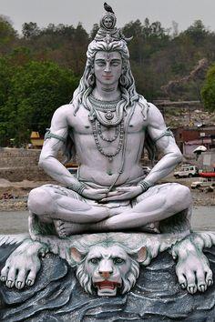 "danielwamba: "" Manfred Sommer India - Uttarakhand - Rishikesh - Shiva - 21 Shiva, meaning ""The Auspicious One""), also knwn as Mahadeva (""Great God""), is a popular Hindu deity. Shiva is regarded as one of the primary forms of God. He is the Supreme. Rishikesh, Lord Shiva Hd Wallpaper, Hanuman Wallpaper, Lord Ganesha Paintings, Lord Shiva Painting, Lord Shiva Sketch, Lord Shiva Statue, Shiva Angry, Shiva Tattoo Design"