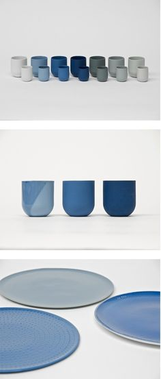 De Intuitiefabriek. 'SUM' is a colorful collection of porcelain cups, bowls and plates in which every choice for detail, color and finish during the production process has a direct influence on the final result and price.