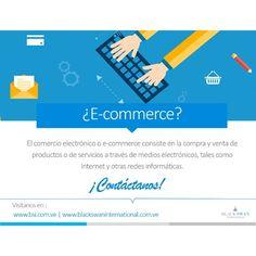 #E-commerce #BlackSwanInternational #DiseñoWeb #DesarrolloWeb  #AsesoriaInformaticaHoy en día el comercio se ha trasladado a esta gran red llamada internet. Es lo que le ha dado vida a lo que conocemos actualmente como comercio electronico.  #vovcyan by bsivenezuela