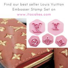 868e95f4d1ef Louis Vuitton Embosser Stamp Impression  louisvuittonstamp   louisvuittonembosser  louisvuittoncake  louisvuittoncutter   designerbrandcutter  . ITA Cakes