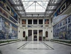 Detroit Institute of Arts. Inside Rivera Court, a huge mural painted by Diego Rivera. Diego Rivera, Clemente Orozco, Lacuna, Detroit History, Michigan Travel, Detroit Michigan, Detroit Today, Metro Detroit, Frida Kahlo