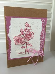Fabulous Flora, Stampin' Up!