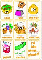 Do you like food? I like.... I don't like...