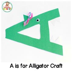 Transform letter cut-outs into adorable animal alphabet crafts! These preschool alphabet letter crafts are the perfect addition to letter of the week activities! Make a craft alphabet for toddlers and have a blast with these alphabet crafts for kids. Alphabet Letter Crafts, Abc Crafts, Animal Alphabet, Preschool Crafts, Craft Kids, Crafts For Kids, Alligator Crafts, Alphabet Activities Kindergarten, Alphabet For Toddlers