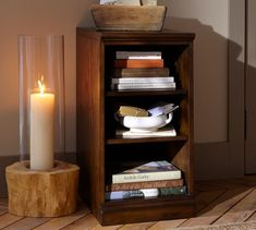 Printer's Bookcase | as nightstand $330