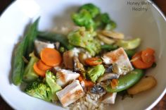 Honey We're Healthy: Asian Chicken Stir Fry