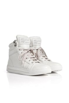 LeatherHigh-TopsfromMARCBYMARCJACOBS | Luxury fashion online | STYLEBOP.com