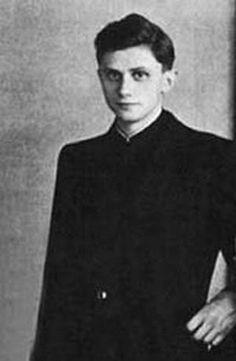 Young Pope Benedict XVI